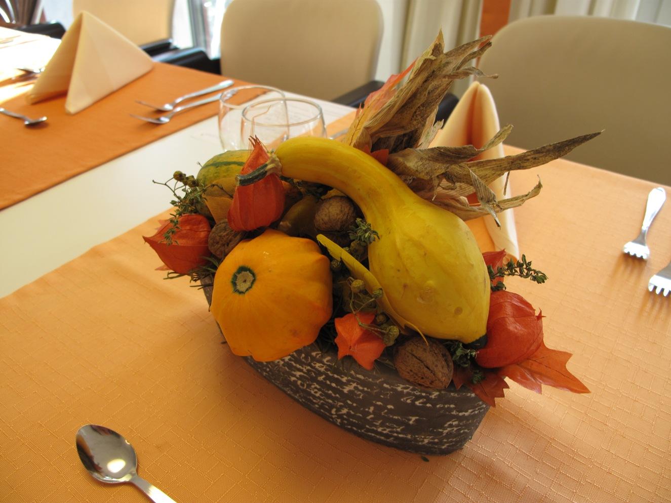Blumendeko Herbst deko ideen dekobeck
